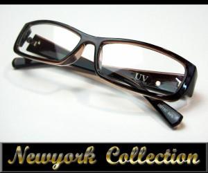 bm18◇伊達メガネ デザインサングラス【25015C】ブラウンフレーム
