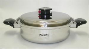 ピナクル2浅型両手鍋24cm