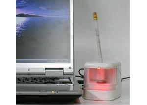 USBシャープナー「電動式鉛筆削り器」
