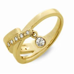 送料無料 T-grand ゴールド リング 指輪 ダイヤモンド ギフト ラッピング 20代 30代 彼女 レディース 女性 誕生日 記念日 プレゼント テ