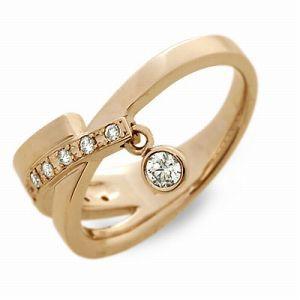 送料無料 T-grand ピンクゴールド リング 指輪 ダイヤモンド ギフト ラッピング 20代 30代 彼女 レディース 女性 誕生日 記念日 プレゼン