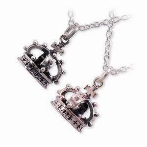 送料無料 HIS jewelry collection シルバー ペアネックレス ダイヤモンド ギフト ラッピング 20代 30代 彼女 彼氏 レディース メンズ カ