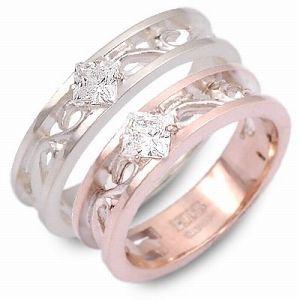 送料無料 HIS jewelry collection シルバー 婚約指輪 結婚指輪 エンゲージリング ペアリング ギフト ラッピング 20代 30代 彼女 彼氏 レ