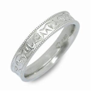 送料無料 spell プラチナ リング 指輪 ギフト ラッピング 20代 30代 彼氏 メンズ 誕生日 記念日 プレゼント スペル