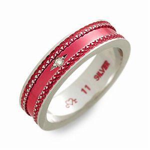 送料無料 cLOVEr シルバー リング 指輪 ダイヤモンド ギフト ラッピング 20代 30代 彼女 レディース 女性 誕生日 記念日 プレゼント クロ