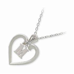 送料無料 PRECIOUS PRESENTS シルバー ネックレス ダイヤモンド ギフト ラッピング 20代 30代 彼女 レディース 女性 誕生日 記念日 プレ