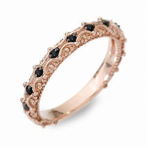 送料無料 Anne Bonny ピンクゴールド リング 指輪 ダイヤモンド ギフト ラッピング 20代 30代 彼女 レディース 女性 誕生日 記念日 プレ
