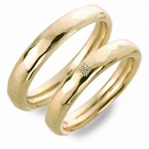 送料無料 NAISSANCE ゴールド 婚約指輪 結婚指輪 エンゲージリング ペアリング ダイヤモンド ギフト ラッピング 20代 30代 彼女 彼氏 レ