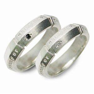 送料無料 wacca シルバー 婚約指輪 結婚指輪 エンゲージリング ペアリング ダイヤモンド ギフト ラッピング 20代 30代 彼女 彼氏 レディ