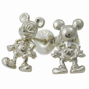 Disney Accessory Disney シルバー ピアス ギフト ラッピング 20代 30代 彼女 レディース 女性 誕生日 記念日 プレゼント ディズニーアク