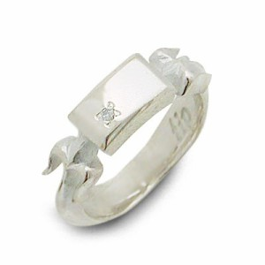 tip シルバー リング 指輪 ダイヤモンド ギフト ラッピング 20代 30代 彼女 レディース 女性 誕生日 記念日 プレゼント ティップ