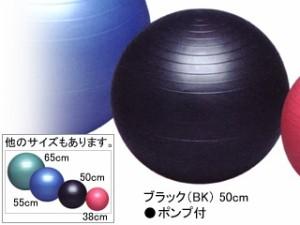 秦運動具工業 バランスボールセイフティー50cm ポンプ付き DB50P