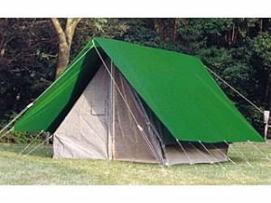 中津テント 常設テント(ボーイスカウト用) TM-848