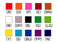 ナショナルハット カラー手旗 N-917
