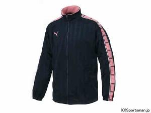 プーマ トレーニングジャケット(ネイビー×ゼラニウムピンク) 862216-76
