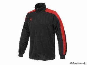 プーマ トレーニングジャケット(グラファイト×レッド) 862220-06