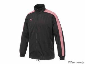 プーマ トレーニングジャケット(チャコール×ゼラニウムピンク) 862220-29