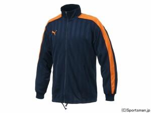 プーマ トレーニングジャケット(ネイビー×オレンジ) 862220-75
