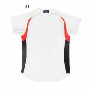レワード ジュニア パズモ メッシュシャツ(ホワイト×レッド×Dネイビー) JUS-2963