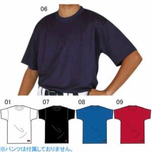 レワード ジュニア 丸首 ストレッチTシャツ 半袖 TS-43