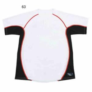 レワード 2ボタン テクノファインシャツ(ホワイト×Dネイビー) UFS-1963
