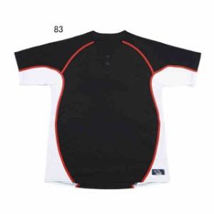 レワード 2ボタンメッシュシャツ(UFS-19)Dネイビー×ホワイト UFS-1983