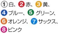 三和商会 番号入りメッシュゼッケン S-154