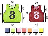 トーエイライト メッシュベストジュニアJW(1〜10) B-3256