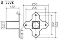 トーエイライト ソフランベース2(3枚1組、上金具付) B-3367