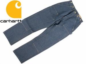 カーハート Carhartt B07 ダブルフロント デニム ペインターパンツ  (DOUBLE FRONT DENIM WORK PANT ワークパンツ ダブルニー)