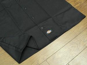 ディッキーズ Dickies 1574 半袖 ワークシャツ ブラック (S/S WORK SHIRT 無地)
