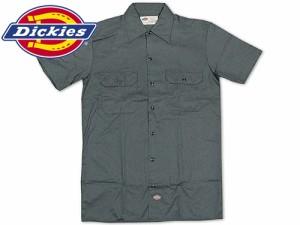 ディッキーズ Dickies 1574 半袖 ワークシャツ チャコール (S/S WORK SHIRT 無地)