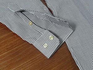 ギットマン ブラザーズ Gitman Bros. ギンガムチェック ボタンダウンシャツ ブラック/ホワイト (米国製 GINGHAM CHECK B.D. SHIRT)