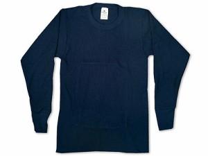 インデラミルズ INDERA MILLS LONG JOHNS サーマル アンダーウェア 長袖Tシャツ ネイビー (ロンT THERMALS L/S CREW 下着)