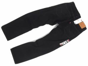 リーバイス LEVI'S 505-0260 ジップフライ ストレート ジーンズ ブラック  (後染め USAライン BLACK)