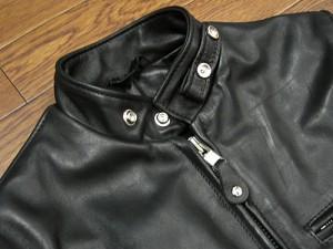 ショット SCHOTT 141 シングルライダース ブラック MADE IN USA(米国製 SINGLE RIDERS BLACK レザージャケット)