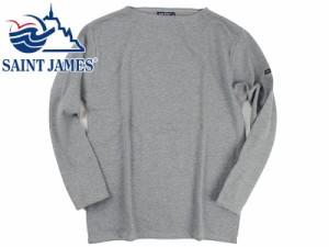 セントジェームス SAINT JAMES バスクシャツ ウエッソン/ギルド グレー (OUESSANT GUILDO GRIS 無地)