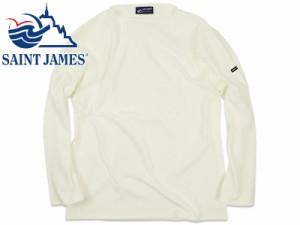 セントジェームス SAINT JAMES バスクシャツ ウエッソン/ギルド ホワイト (OUESSANT GUILDO NEIGE 無地)