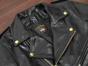 バンソン VANSON C2 ダブルライダース ブラック MADE IN USA ■ミンクオイルプレゼント■(レザージャケット BLACK)