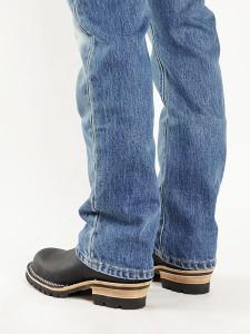 """ウェスコ Wesco #7700100 エンジニアブーツ ボス 11"""" ブラック スティールトゥ (米国製 BOSS 11"""" Steel toe)"""