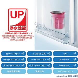 【ブリタ ファン マクストラプラスカートリッジ1個付き 正規品 ピンク 1.0L】