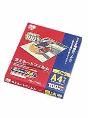 【アイリスオーヤマ ラミネートフィルム 150ミクロン A4 100枚】※受け取り日指定不可