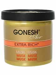 【GONESH(ガーネッシュ) ゲルエアフレッシュナー エクストラリッチ ムスク】※キャンセル・変更・返品交換不可