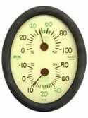 【クレセル エコロジー 温度計・湿度計 (壁掛け・卓上両用) CR-136E】※受け取り日指定不可※税抜5000円以上送料無料