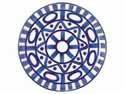 【DANSK (ダンスク) アラベスク サラダプレート 539530】※受け取り日指定不可※税抜5000円以上送料無料