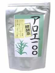 【発酵キダチアロエ茶「アロエ100」】※受け取り日指定不可※税抜5000円以上送料無料