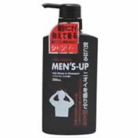 【MEN'S-UP リンスインシャンプー シトラスフローラルの香り 500ml】