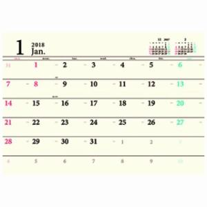 カレンダー 2018 年 DAY STATION ベーシック壁掛け A3 スケジュール 壁掛け 書き込み 実用