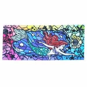 リトルマーメイド アリエル フェイスタオル インクジェットロングタオル ディズニープリンセス キャラクターグッズ通販 【メ