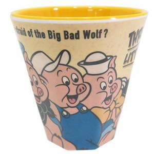 三匹の子豚 メラミンカップディズニー キャラクターグッズ通販